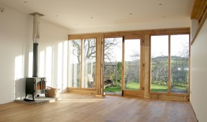 Inside of doors for Garden Room
